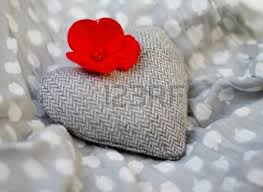 Fabric Heart Decorations Shabby Chic Red And White Gingham Hearts With Rustic Decorations