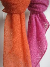 knitting pattern for angora scarf candy by maanel easy to knit laceweight scarves great for our