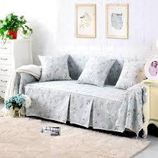 accoudoir canapé dentelle housse de canapé fleur couverture sur le canapé