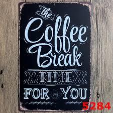20x30cm coffee break for you