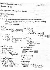 word problems using exponential and logarithmic functions honors