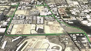 Map Of The Las Vegas Strip Elevated Roadways Would Connect Las Vegas Strip Corridor U0026 Airport