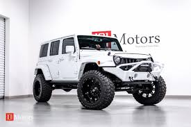 jeep custom 2015 jeep wrangler white custom leather 101 motors media