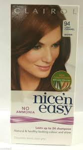 light caramel brown hair color clairol nice n easy no ammonia hair colour light caramel brown 94