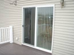 Patio Slider Door by Decor Patio Sliding Door With White Frame For Home Decoration Ideas
