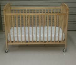 full size crib wood folding baby u0026 beach vacation rental