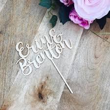 personalised wedding cake topper name wedding cake engagement cake
