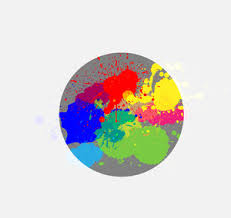paint splash vector royalty free stock image storyblocks