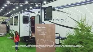 winnebago voyage suites 5th wheel 323rl youtube