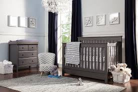 Black Convertible Crib by Piedmont 4 In 1 Convertible Crib With Toddler Bed Conversion Kit