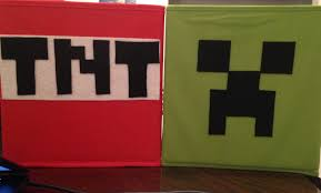storage boxes u2013 minecraft tnt u0026 creeper u2013 for scout leaders