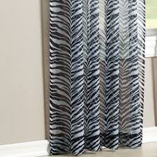 Zebra Curtain Panels Kenya Zebra Window Treatment