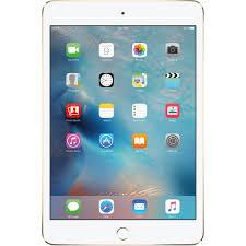apple 64gb ipad mini 4 wi fi only gold mk9j2ll a b u0026h photo