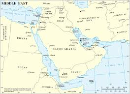 World Map Of Middle East by List Of All Countries In Middle East Bridgat Com