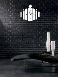 Design Home Decor Wall Clock by Decorative Wall Clocks Modern Modern Box Clock Full Image For
