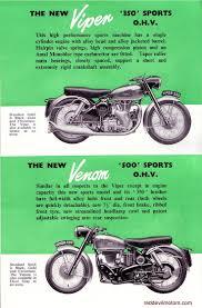 red devil motors velocette brochure 1956 motorrad poster
