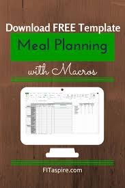 How To Do A Simple Spreadsheet Best 25 Camping Meal Planner Ideas Only On Pinterest Beach Body