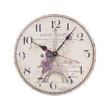 stupendous country style wall clock 102 20 country style metal
