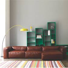 Green Bookshelves - interior designs cool opollo couch 4 seater and leather material