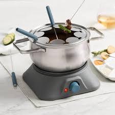 trudeau accessoires cuisine ensemble à fondue électrique 3 en 1 pillar trudeau thèmes
