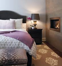 Grey And Brown Bedroom by How To Warm Up A Stark Bedroom Purple Rooms Bedrooms And Principal