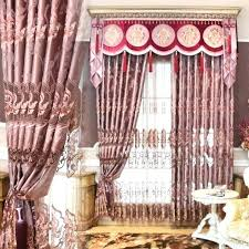 Sheer Valance Curtains Curtain With Attached Valance Stunning Curtains With Attached