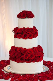wedding cakes with red roses wedding cakes wedding ideas and