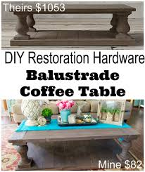 coffee tables balustrade coffee table coffee table made from