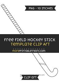 field hockey stick template u2013 clipart