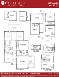 castle rock floor plans snowmass silver home plan by castlerock communities in hutto highlands