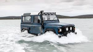 older land rover discovery land rover defender vs the atlantic ocean u2013 and the car wins just