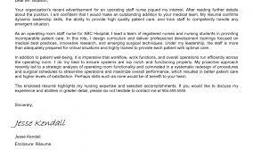 Sample Cover Letter For Nursing Cover Letter Of Graduate Nurse
