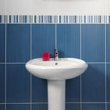 Border Tiles For Bathrooms Blue Linear Dot Border Tiles Brighton Pavilion Tiles 250x80x7mm Tiles