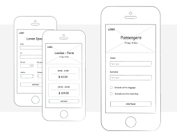 justinmind u0027s new ui kit for creating a sketching wireframe