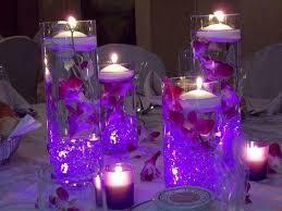 purple centerpieces chic purple centerpieces for wedding tables 37 trendy purple