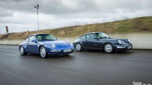 old porsche spoiler k roll u0027s porsche 911 generational comparison 993 vs 964