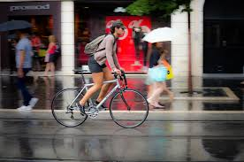 bicycle rain gear 4 ways to enjoy riding in the rain decathlon sports india