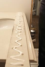 how to install a pre made vanity top withheart