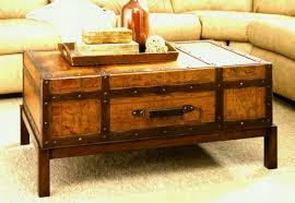 Coffee Tables Chest West Elm Square Coffee Table With Drawers Tables Home Design