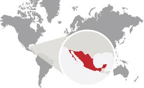 mexico in the world map send money to mexico money transfer to mexico