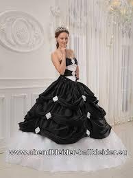 schwarz weiãÿes brautkleid schwarz weisses sissi kleid abendkleid ballkleid schwarze