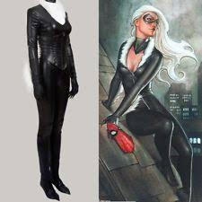 Ms Marvel Halloween Costume Marvel Black Cat Costume Ebay