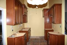 kitchen exciting teak wooden kitchen cabinet design ideas with