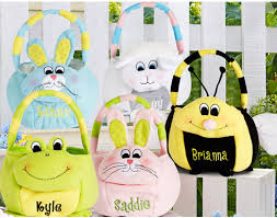 personalized easter basket personalized plush easter baskets 9 47
