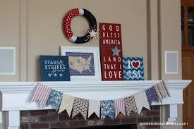 4th Of July Home Decor by 15 Fabulous Fourth Of July Mantels Flashback Friday The Kim