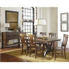 Dining Room Groups Intercon The District Dining Table With Leaf Wayside Furniture