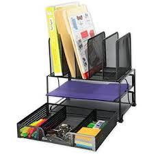 Upright Desk Organizer Simple Houseware Do 004 1 Simplehouseware Mesh Desk Organizer With