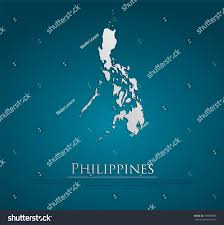 Eros Map Vector Philippines Map Card Paper On Stock Vector 199897868