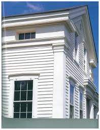 Colonial Trim Exterior Cornice Trim And Windows In The Frieze Boards Colonial