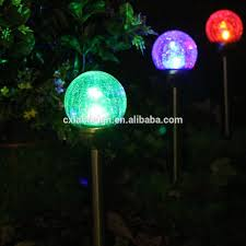 solar powered decoration garden balls light solar powered